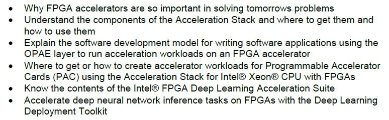 Intel Acceleration Stack & AI Academy Workshop | Macnica Cytech